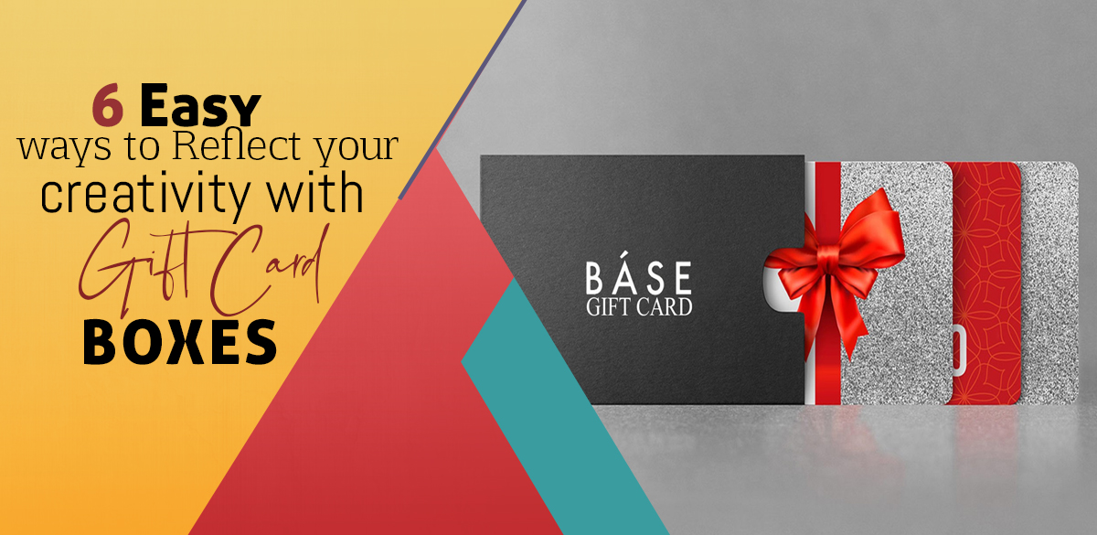 Wholesale Gift Card Boxes