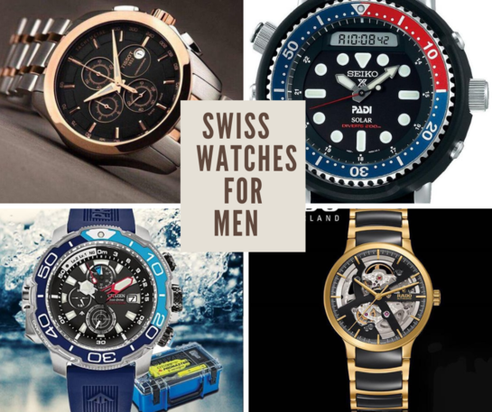 Swiss Watches for Men
