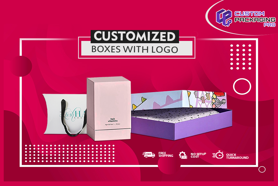 Customized boxes with logo