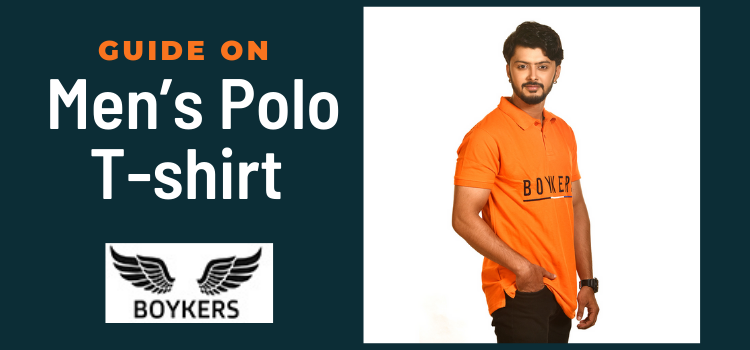 boykers Guide on men's polo t-shirt