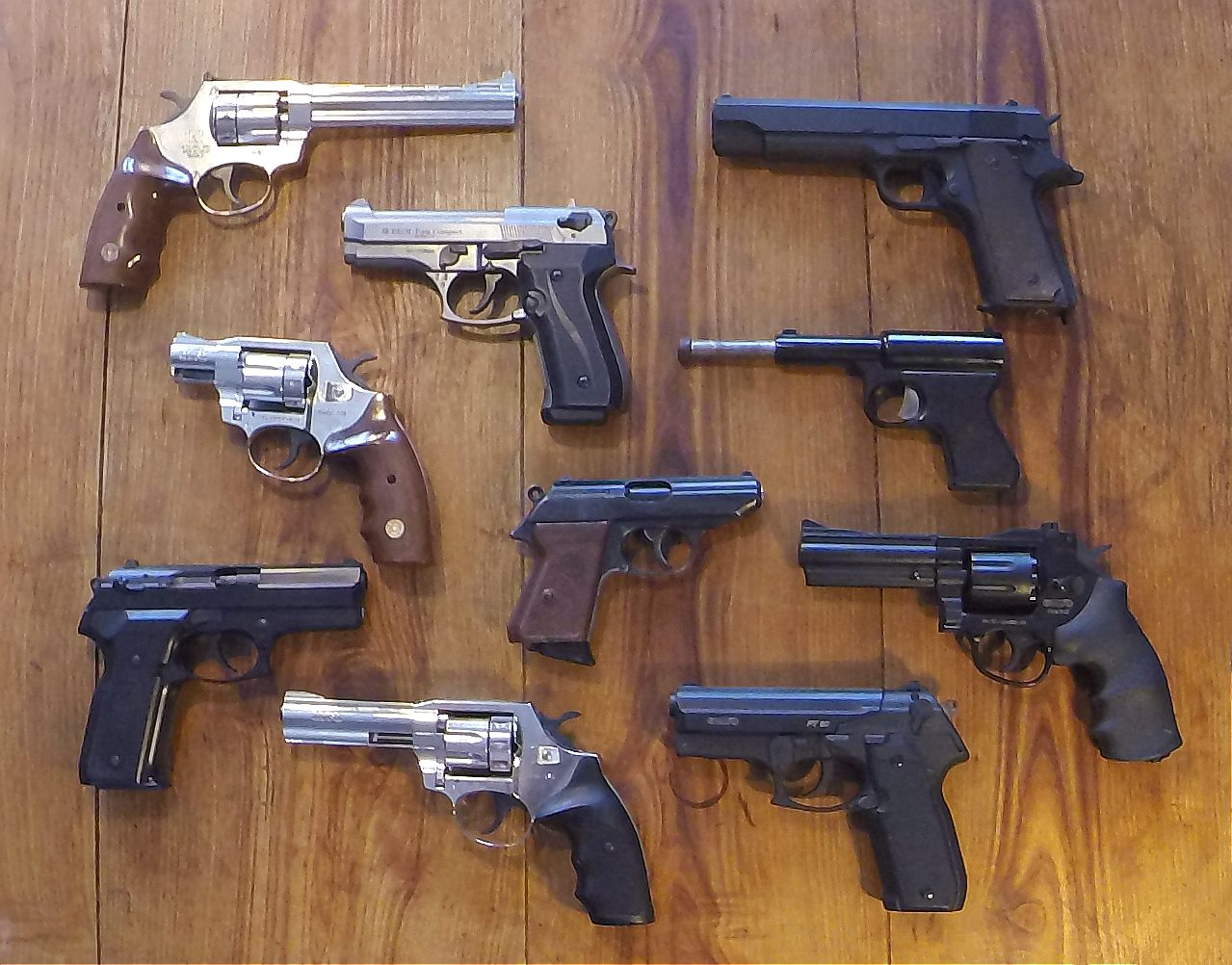 A Thorough Guide to All Common Gun Types